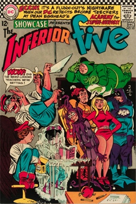 Showcase #65: Inferior Five appearance. Click for values