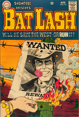 Showcase Comic #76: First appearance of Bat Lash. Click for values