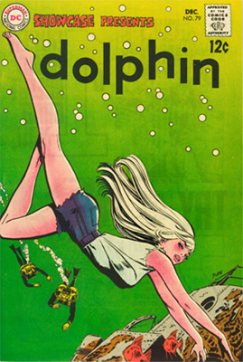 Showcase #79. First appearance of Dolphin and origin of Aqualad. Click for values