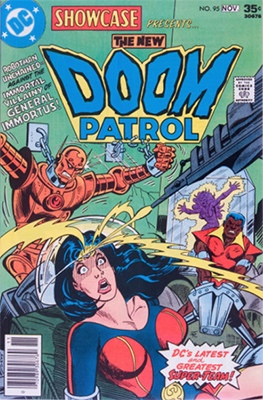Showcase #95: Doom Patrol appearance. Click for values