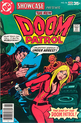 Showcase #96: Doom Patrol appearance. Click for values