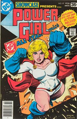 Showcase #97 (February 1978): Power Girl. Click for values