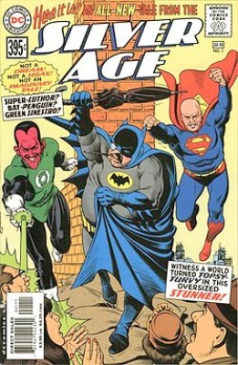 Origin and First Appearance, Agamemno, Silver Age #1, DC Comics, 2000. Click to have yours appraised
