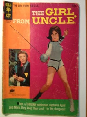 Silver Age Comics I Found in Storage: Girl From UNCLE #4 value?
