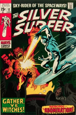 Silver Surfer #12 from the 1960s series. Click for value