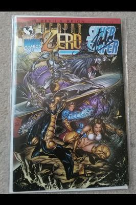 Silver Surfer Weapon Zero signed by Stan Lee