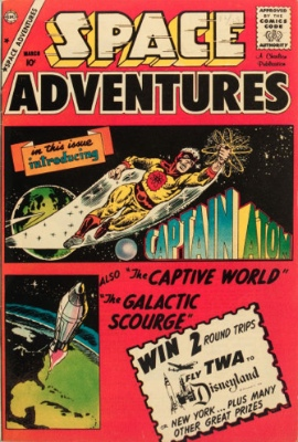 Origin and First Appearance, Captain Atom, Space Adventures #33, Charlton Comics, 1960. Click for values