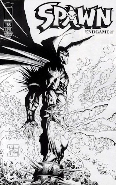 #8: Spawn 185 Sketch Portacio/McFarlane (2008). Click for values