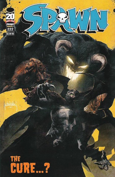 #13: Spawn 222 Kudranski Variant (2012). Click for values
