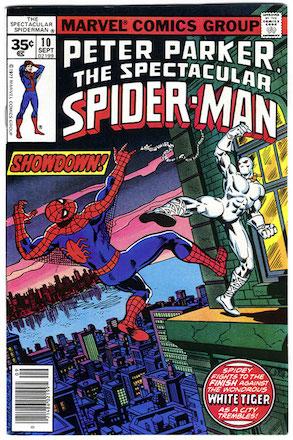 (Peter Parker, the) Spectacular Spider-Man #10 35c Price Variant