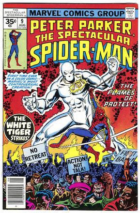 (Peter Parker, the) Spectacular Spider-Man #9 Marvel 35 Cent Price Variants
