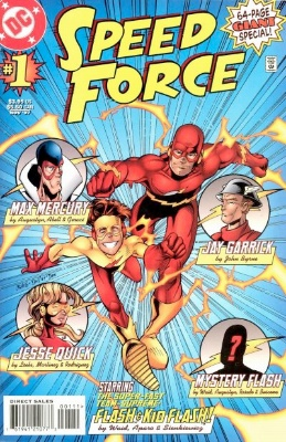 Origin and First Appearance, Cobalt Blue, Speed Force #1, DC Comics, 1997. Click for value
