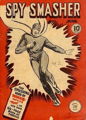 Spy Smasher comics v1 #1