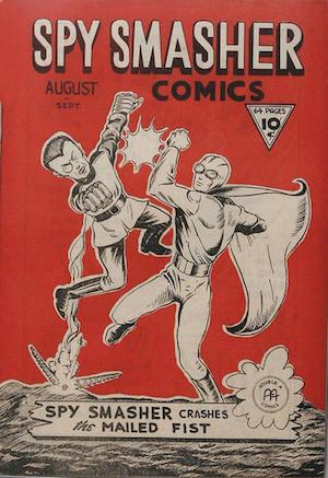 Spy Smasher comics v1 #2