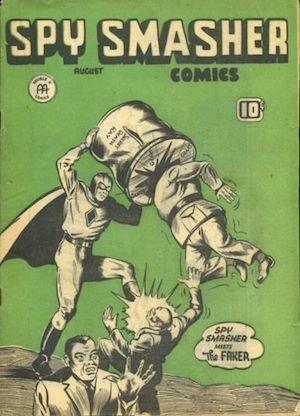 Spy Smasher comics v2 #1