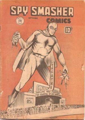 Spy Smasher comics v2 #2