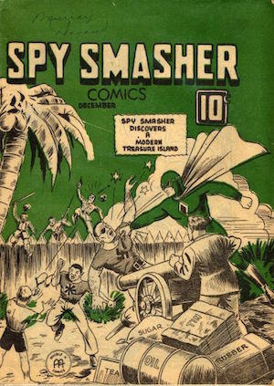 Spy Smasher comics v2 #5