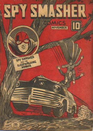 Spy Smasher comics v4 #3