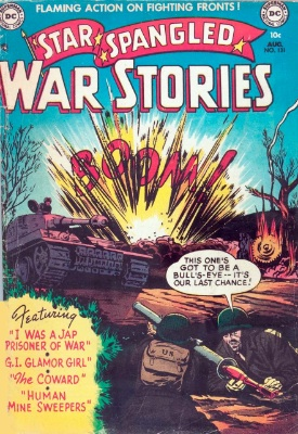 Star Spangled War Stories became The Unknown Soldier in 1977. Click for values