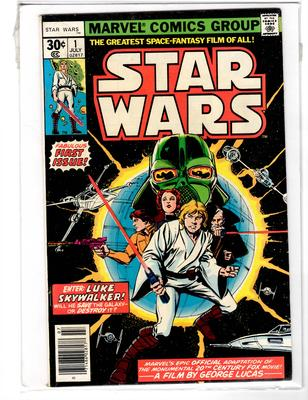 Star Wars #1 30c edition Value?