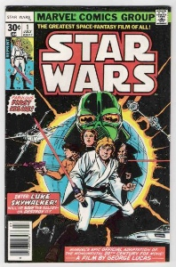 Star Wars comic #1. Sell your Bronze Age key issues to us