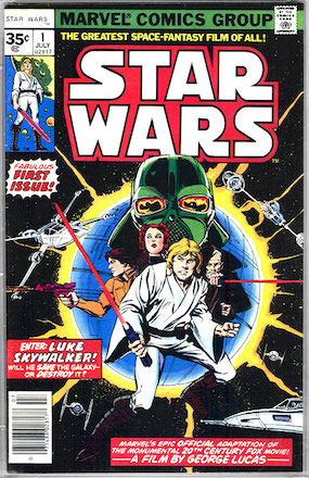 Star Wars #1 35 Cent Price Variant is a Hot Comic