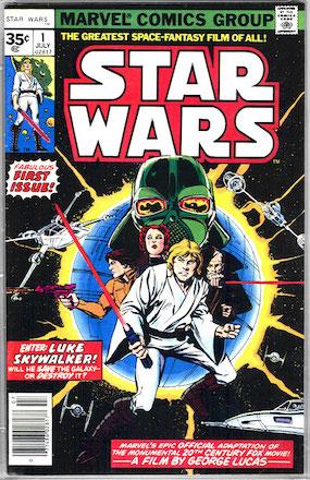KEY ISSUE! Star Wars #1 Marvel 35c Price Variant