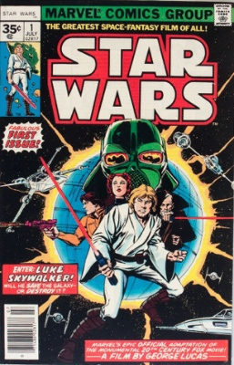 Star Wars #1 (35c Price Variant): Rare Variant of First Issue. Click for value!