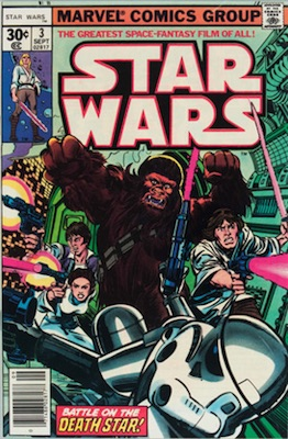 Star Wars #3 1977 Regular Edition