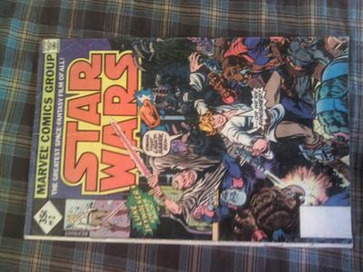 Star Wars Comic 1-3 35c: Reprints have minimal value