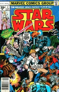 Star Wars Comics 1977 Value: the rare 35c price variant