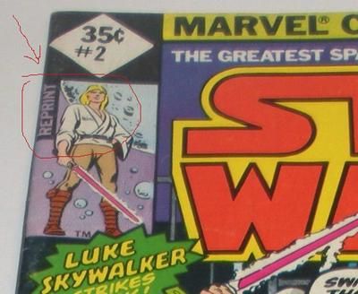 Star Wars Comics 1977 Value: issue #2 reprinted at 35c