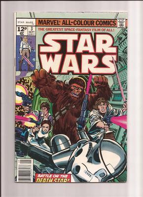 Star Wars Comics Values: UK #3