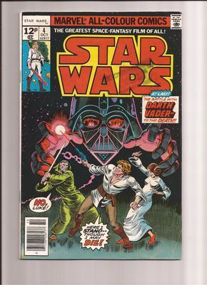 Star Wars Comics Values: UK #4