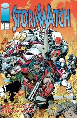 Origin and First Appearance, Stormwatch, Stormwatch #1, Image Comics, 1993. Get your comic valued today FREE.