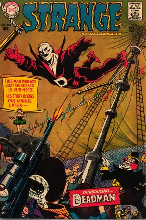 Hot Comics #20: Strange Adventures #205, 1st Deadman. Click to find your copy!