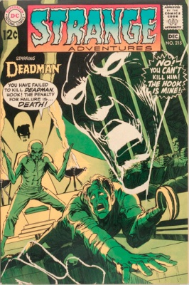 Origin and First Appearance, Sensei, Strange Adventures #215, DC Comics, 1968. Click for value