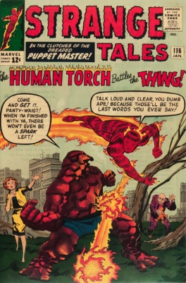 Strange Tales #116, January 1964: Hoggoth Who? Click for value