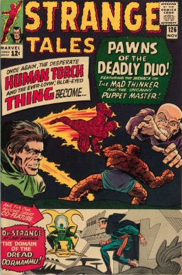 Strange Tales #126, November 1964: First Appearance, Dormammu; First Appearance, Clea. Click for value