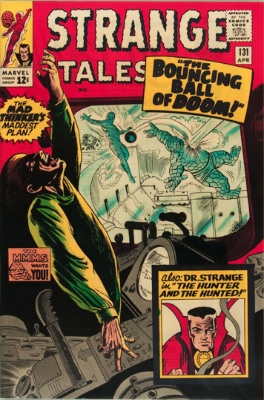 Strange Tales #131, March 1965: The Defeat of Doctor Strange! Click for value