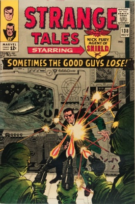 Strange Tales #138, November 1965: First Appearance of Eternity. Click for value