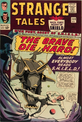 Strange Tales #139 through #141, December 1965-April 1966, Epic Dormammu Story Arc Concludes. Click for value