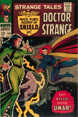 Strange Tales #150, November 1966: First Appearance of Umar; John Buscema Art. Click for value