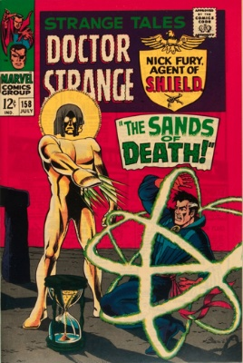 Strange Tales #158, July 1967: The Living Tribunal; Jim Steranko Art. Click for value