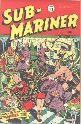 Sub-Mariner by Timely Comics. Click for values