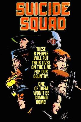 New Suicide Squad in the solo series from 1987