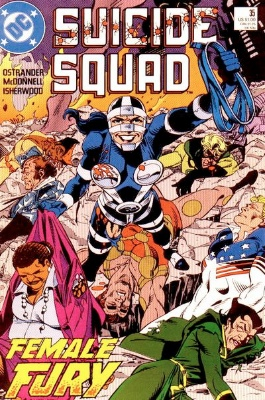 Origin and First Appearance, Artemiz, Suicide Squad #35, DC Comics, 1986. Click for value