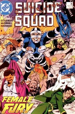 Origin and First Appearance, Artemiz, Suicide Squad #35, DC Comics, 1986. Click for value