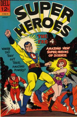 Super Heroes #1 (1967), Dell Comics. Click for values