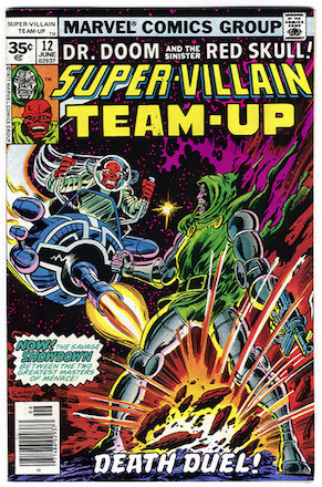 Super-Villain Team-Up #12 35c Price Variant